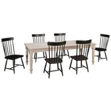 Magnolia Home Mangolia Home 7 Piece Dining Set