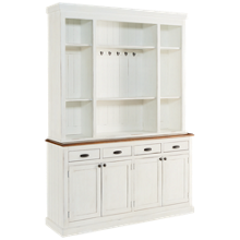 Magnolia Home Baker's Pantry with Hutch