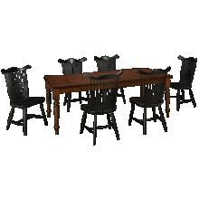 Canadel Cognac 7 Piece Dining Set