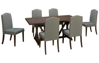 Liberty Furniture Carolina Lakes 7 Piece Dining Set