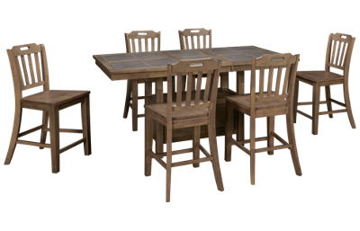 Jofran Prescott Park 7 Piece Counter Height Dining Set