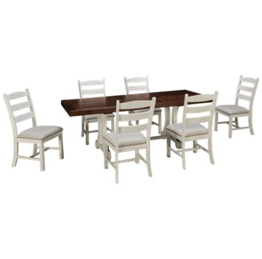 Ashley Valebeck Ashley Valebeck 7 Piece Dining Set Jordan S Furniture