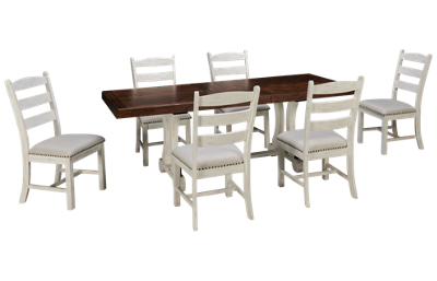 Ashley Valebeck 7 Piece Dining Set