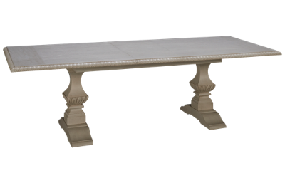 Klaussner Home Furnishings Jasper County Rectangular Table with Leaf