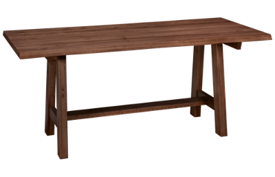 Vaughan-Bassett Simply Dining Crafted Live Edge Table