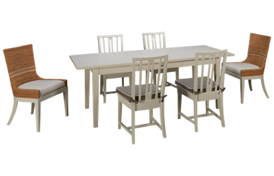 Universal Coastal Living 7 Piece Dining Set