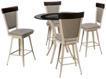 Amisco Kai 5 Piece Dining Set