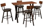 Amisco Alex 5 Piece Dining Set