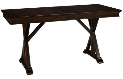 "Legacy Classic Thatcher Table with (1) 18"" Leaf"