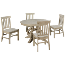 "Magnussen Bronwyn 5 Piece  48"" Dining Table Set"