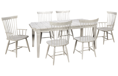 Legacy Classic Belhaven 7 Piece Dining Set with Leaf