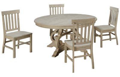 "Magnussen Bronwyn 5 Piece 60"" Dining Table Set"