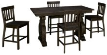Magnussen Bellamy 5 Piece Counter Height Dining Set