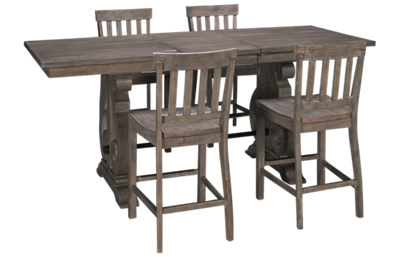 Magnussen Tinley Park 5 Piece Dining Set  with Leaf