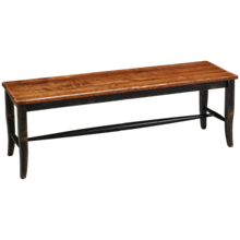 "Canadel Champlain 18"" Bench"