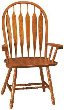 Intercon Classic Oak Arm Chair