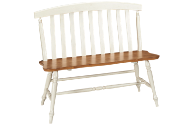 Liberty Furniture Al Fresco Slat Back Bench