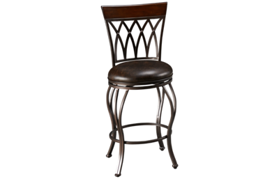 American Heritage Billiards Palermo Swivel Counter Stool