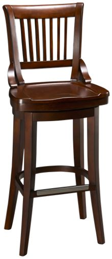 American Heritage Billiards Liberty Swivel Counter Stool