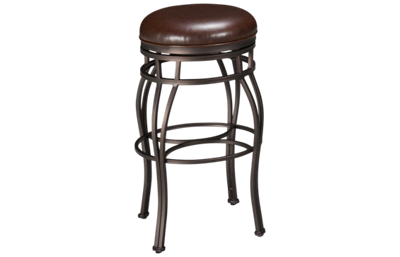 American Heritage Billiards Bella Swivel Bar Stool