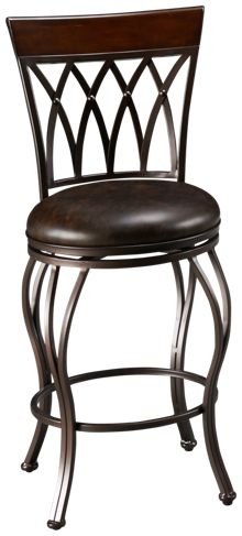 American Heritage Billiards Palermo Swivel Bar Stool