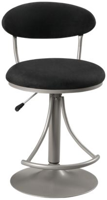 Hillsdale Furniture Venus Black Bar Stool