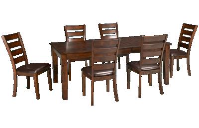 Intercon Kona 7 Piece Dining Set with Leaf