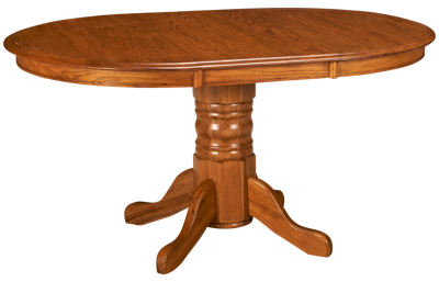 Intercon Classic Oak Table with Leaf