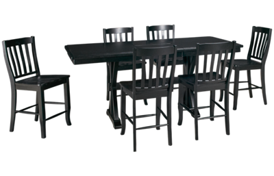 Winners Only Quail's Run 7 Piece Dining Set with Leaf