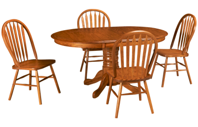 Intercon Classic Oak 5 Piece Dining Set with Leaf