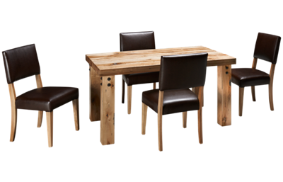 Canadel Loft 5 Piece Dining Set