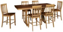 Winners Only Quails Run 7 Piece Counter Height Dining Set