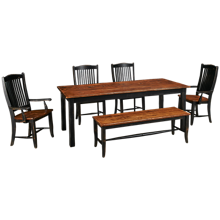 Canadel Champlain 6 Piece Dining Set