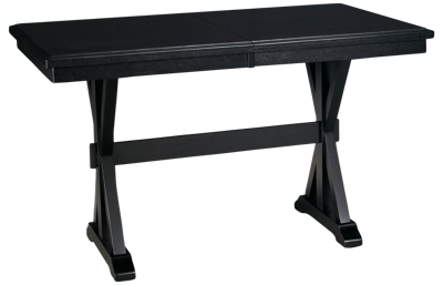 Winners Only Quail's Run Counter Height Table with Leaf
