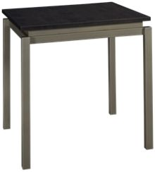 Amisco Cameron Table with Wood Top