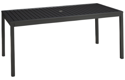"Lloyd Flanders Lux 68"" Rectangle Table"