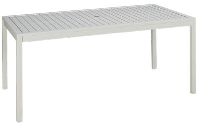 "Lloyd Flanders Lux 68"" Rectangular Table"