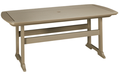 "Seaside Casual Furniture Portsmouth 72"" Dining Table"