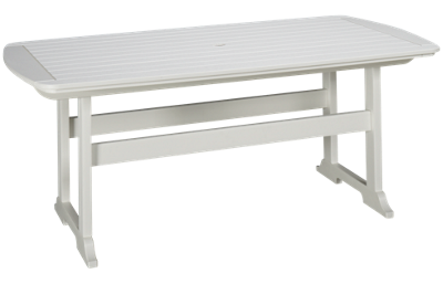 """Seaside Casual Furniture Portsmouth 72"""" Dining Table"""