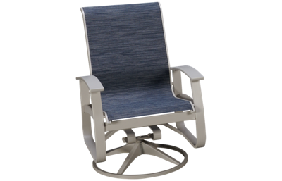 Telescope Casual Furniture Belle Sling Belle Isle Swivel Rocker