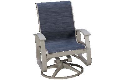 Telescope Casual Furniture Belle Sling Belle Isle Swivel Rocker