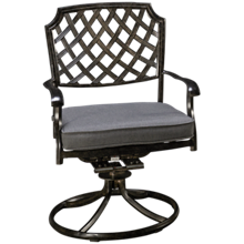 Agio International Madison Swivel Rocker with Cushion