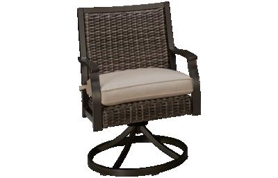 Agio International Trenton Swivel Rocker with Seat Cushion