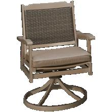 Agio International Lakehouse Swivel Rocker with Seat Cushion