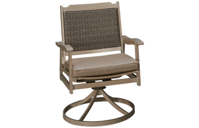 Agio International Lakehouse Swivel Rocker with Seat Cushion