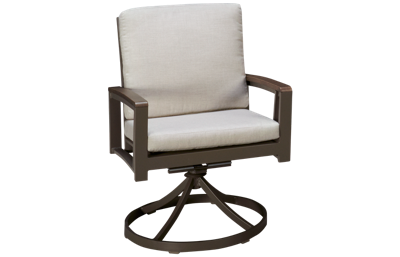 Agio International Avalon Swivel Rocker with Cushion