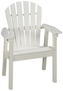 Seaside Casual Furniture Adirondack Shell Back Arm Chair
