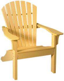 Seaside Casual Furniture Adirondack Shellback Chair