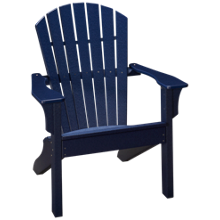 Seaside Casual Furniture Adirondack Shellback Chair
