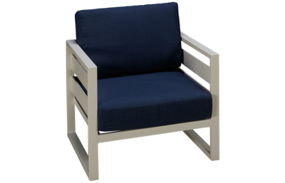 Gathercraft Capri Club Chair with Cushion